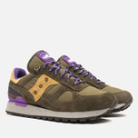 Мужские кроссовки Saucony x Penfield Shadow Original 60/40 Pack Olive/Purple фото- 1