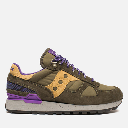 Мужские кроссовки Saucony x Penfield Shadow Original 60/40 Pack Olive/Purple