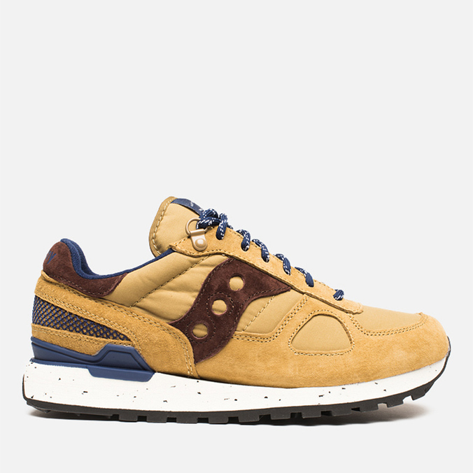 Мужские кроссовки Saucony x Penfield Shadow Original 60/40 Pack Tan/Navy