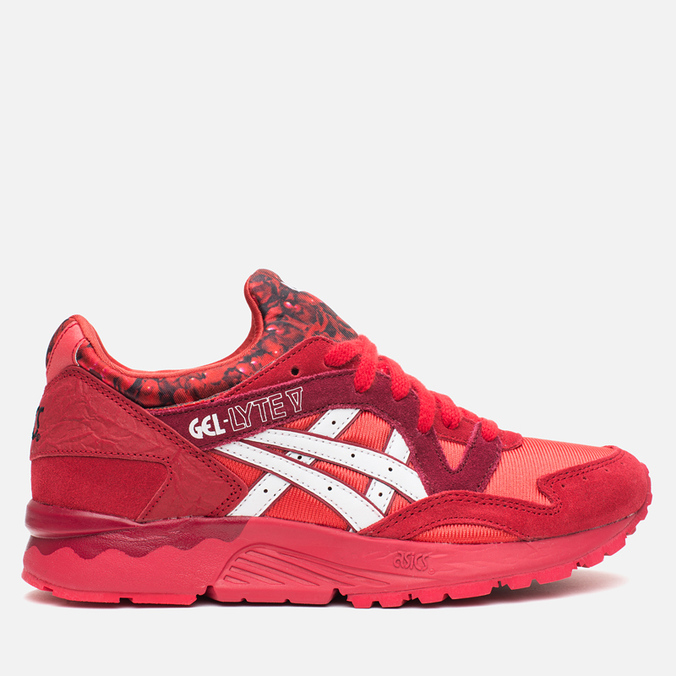Кроссовки ASICS Gel-Lyte V Valentines Pack Rose Red/White