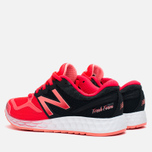 New Balance W1980WP Women's Sneakers Red/Black photo- 2