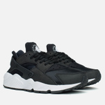 Женские кроссовки Nike Air Huarache Run Black/White фото- 1