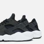 Женские кроссовки Nike Air Huarache Run Black/White фото- 7