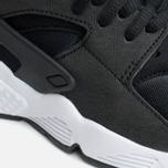 Женские кроссовки Nike Air Huarache Run Black/White фото- 5