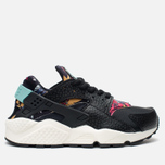Женские кроссовки Nike Air Huarache Run Print Black/Artisant Teal фото- 0