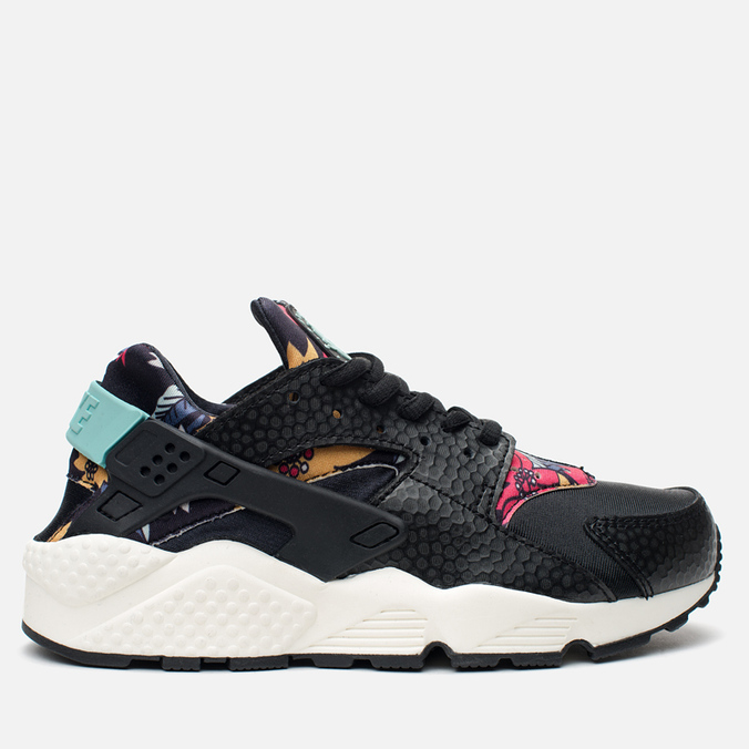 Женские кроссовки Nike Air Huarache Run Print Black/Artisant Teal