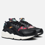 Nike Air Huarache Run Print Women's Sneakers Black/Artisant Teal photo- 1