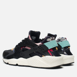 Женские кроссовки Nike Air Huarache Run Print Black/Artisant Teal фото- 2