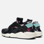 Nike Air Huarache Run Print Women's Sneakers Black/Artisant Teal photo- 2
