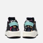Nike Air Huarache Run Print Women's Sneakers Black/Artisant Teal photo- 3