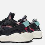 Nike Air Huarache Run Print Women's Sneakers Black/Artisant Teal photo- 5