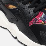 Nike Air Huarache Run Print Women's Sneakers Black/Artisant Teal photo- 7