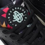 Nike Air Huarache Run Print Women's Sneakers Black/Artisant Teal photo- 6