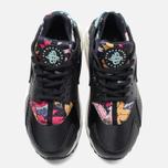 Nike Air Huarache Run Print Women's Sneakers Black/Artisant Teal photo- 4