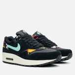 Женские кроссовки Nike Air Max 1 Print Black/Artisan Teal фото- 1