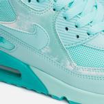 Женские кроссовки Nike Air Max 90 Print Teal/White фото- 6