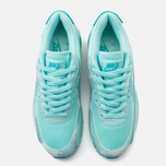 Женские кроссовки Nike Air Max 90 Print Teal/White фото- 4