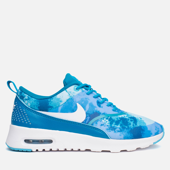 Женские кроссовки Nike Air Max Thea Print Blue/White/Clearwater
