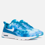 Женские кроссовки Nike Air Max Thea Print Blue/White/Clearwater фото- 1