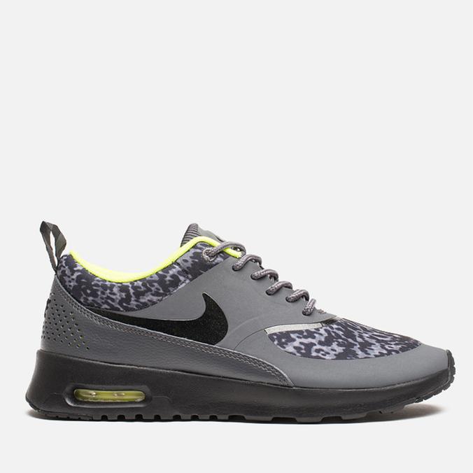 Женские кроссовки Nike Air Max Thea Print Dark Grey/Black/Volt