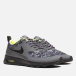 Женские кроссовки Nike Air Max Thea Print Dark Grey/Black/Volt фото- 1
