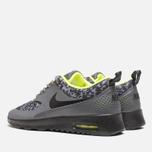 Женские кроссовки Nike Air Max Thea Print Dark Grey/Black/Volt фото- 2