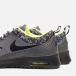 Женские кроссовки Nike Air Max Thea Print Dark Grey/Black/Volt фото- 6