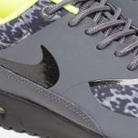Женские кроссовки Nike Air Max Thea Print Dark Grey/Black/Volt фото- 7