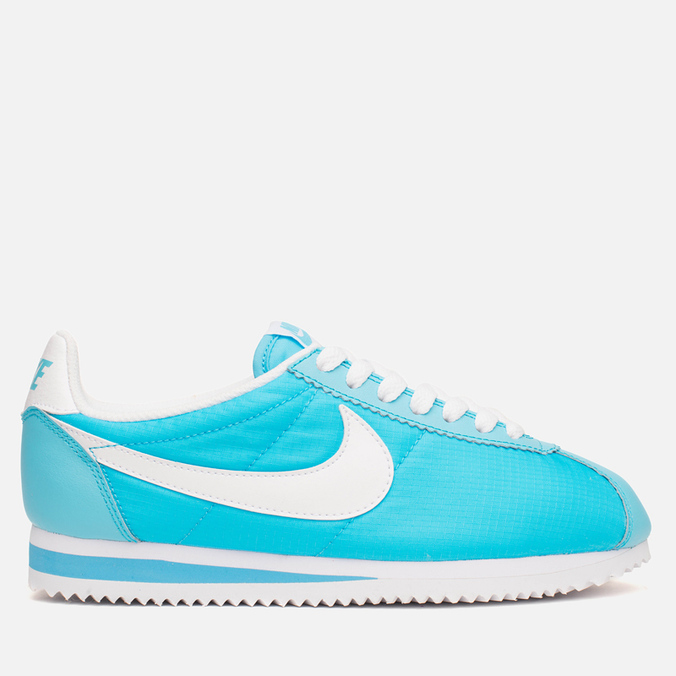 Женские кроссовки Nike Classic Cortez Nylon Clearwater/White