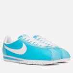 Женские кроссовки Nike Classic Cortez Nylon Clearwater/White фото- 1