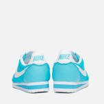 Женские кроссовки Nike Classic Cortez Nylon Clearwater/White фото- 3