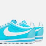 Женские кроссовки Nike Classic Cortez Nylon Clearwater/White фото- 7