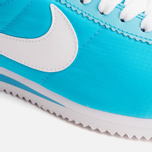 Женские кроссовки Nike Classic Cortez Nylon Clearwater/White фото- 5