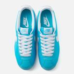 Женские кроссовки Nike Classic Cortez Nylon Clearwater/White фото- 4