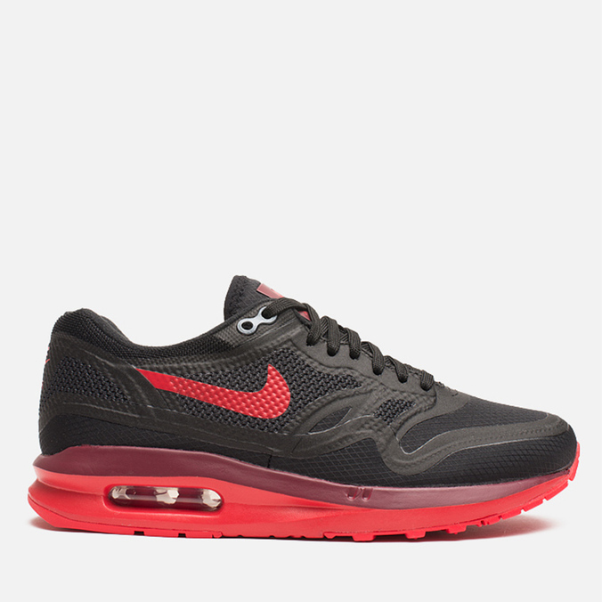 Женские кроссовки Nike Lunar Air Max 1 Black/Action Red/Team Red
