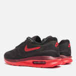 Женские кроссовки Nike Lunar Air Max 1 Black/Action Red/Team Red фото- 2