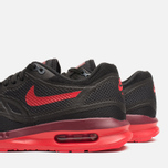 Женские кроссовки Nike Lunar Air Max 1 Black/Action Red/Team Red фото- 6