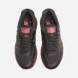 Женские кроссовки Nike Lunar Air Max 1 Black/Action Red/Team Red фото- 4