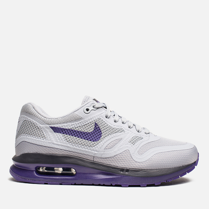 Nike Lunar Air Max 1  Women's Sneakers Wolf Grey/Court Purple