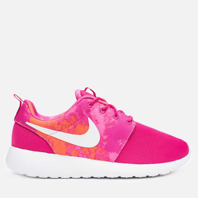 Женские кроссовки Nike Rosherun Print Fireberry