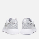 Nike Rosherun Women's Sneakers White/Platinum photo- 3