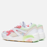 Женские кроссовки Puma R698 Coastal Whisper White/Patina Green фото- 2