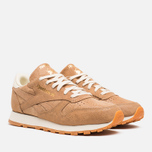 Женские кроссовки Reebok Classic Leather Exotics Matte Gold фото- 1