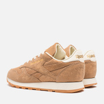 Женские кроссовки Reebok Classic Leather Exotics Matte Gold фото- 2
