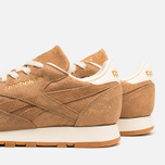 Женские кроссовки Reebok Classic Leather Exotics Matte Gold фото- 6