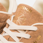 Женские кроссовки Reebok Classic Leather Exotics Matte Gold фото- 8