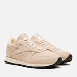 Женские кроссовки Reebok Classic Leather Exotics Metallic Silver фото- 1