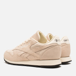Женские кроссовки Reebok Classic Leather Exotics Metallic Silver фото- 2