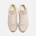 Женские кроссовки Reebok Classic Leather Exotics Metallic Silver фото- 4