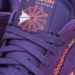 Reebok Classic Leather Seasonal II Women's Sneakers Violet/Coral/White photo- 8